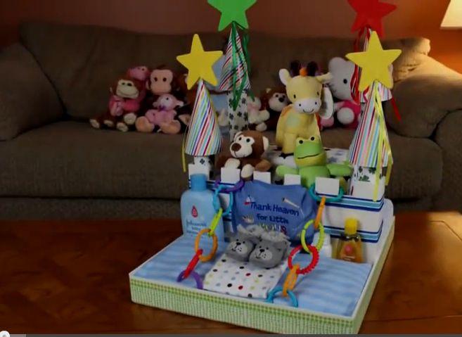 Daddy Cool!: Φτιάξτε μόνες σας βήμα -βήμα ένα κάστρο από Diaper...