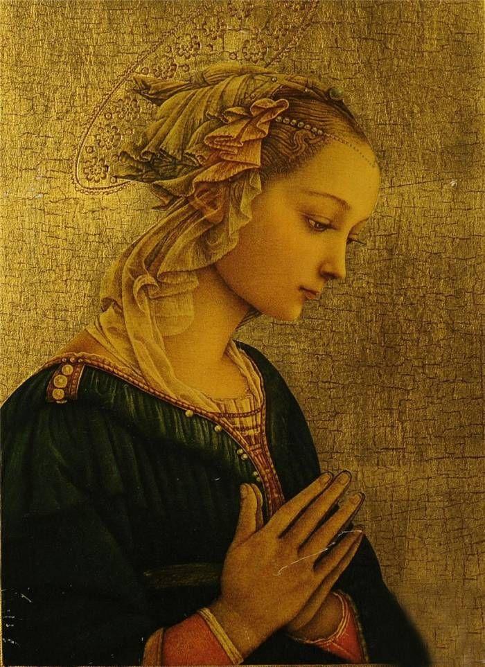 Мадонна…/ Художник Fra Filippo Lippi