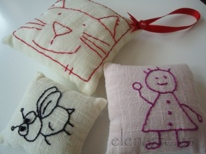 Bordados: Manualidades Geniales, Embroidery, Broderie The