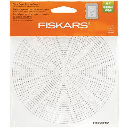 """Fiskars Paper Piercing Stencil, 6"""" by 6"""", Circles Fiskars https://www.amazon.com/dp/B0100JFK9Q/ref=cm_sw_r_pi_dp_x_9KH6xb0H3FPD7"""