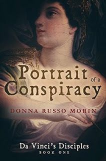 The Maiden's Court: Book Review: Portrait of a Conspiracy by Donna Russo Morin