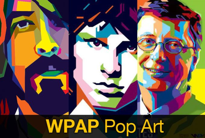 create you wpap popart illustration by led_nrgdesign