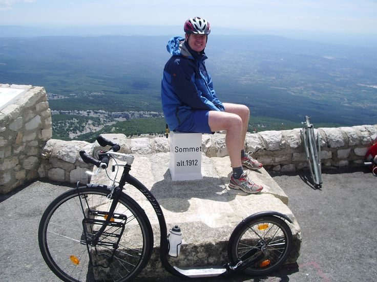 Sur la Mont Ventoux