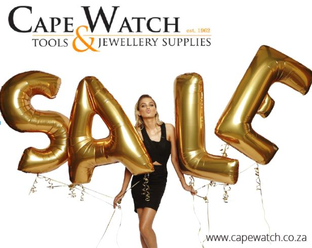 Nothing beats a big sale! Have a look at our extensive range of specials. http://www.capewatch.co.za/category/equipment-and-jewellery-tools-for-sale