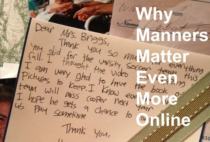 !0 Reasons Why Manners Matter More Than Ever
