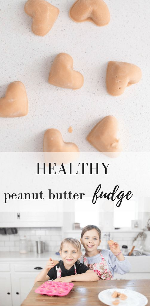 Healthy Peanut Butter Fudge Recipe Healthy Valentine's Day Treat