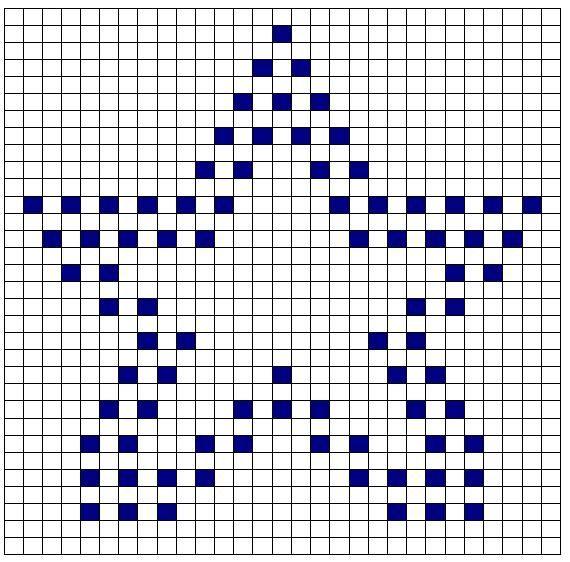 Star bobble crochet
