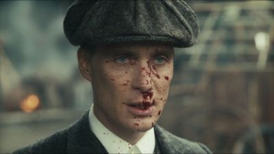 Peaky Blinders- Cillian Murphy. I am obsessed with this show.