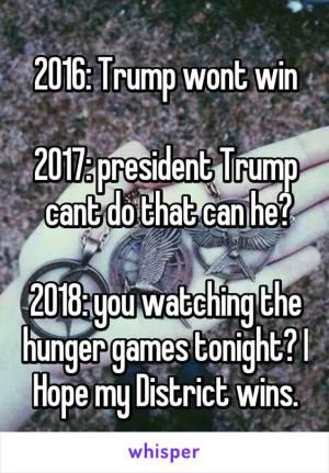 Funny Donald Trump Images to Make You Laugh and Cry: Trump and the Hunger Games
