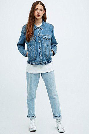 Somedays Lovin' Retreat Valiant Denim Jacket - Urban Outfitters