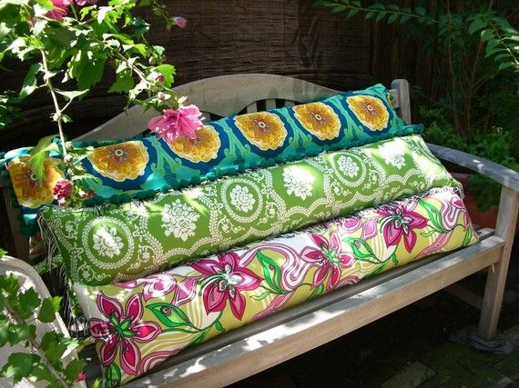 Great Large Bolster Pillows, Body Pillows, Insert Included, Custom Pillows, Outdoor  Pillows,