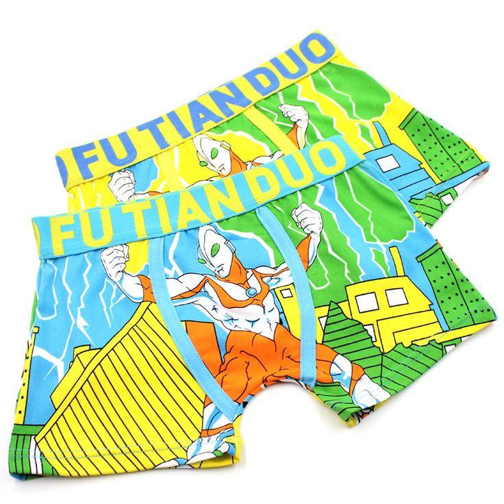 >> Click to Buy << 3-9T Boys Batman Underpants Boy Student Ultraman Underwear Breathable Cartoon Boxer Briefs Children's Soft Underpants Kids Pants #Affiliate