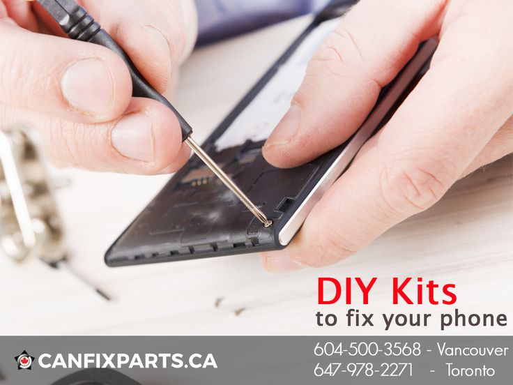 #Phone #repair is no longer a hectic task! Get your own DIY kits to fix your phone. www.canfixparts.ca / +1 647-860-2271 #Canada