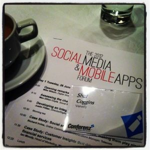 Attended the 2012 Social Media and Mobile Apps Forum in Auckland. Topics included: developing an integrated social media strategy, social and corporate values: making them play nicely, creating a culture around social media, how to avoid and survive social media PR disasters...