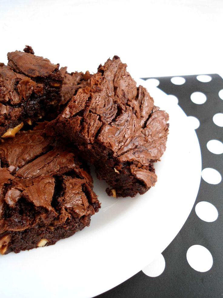 Sinônimos de alegria   Brownie com nutella