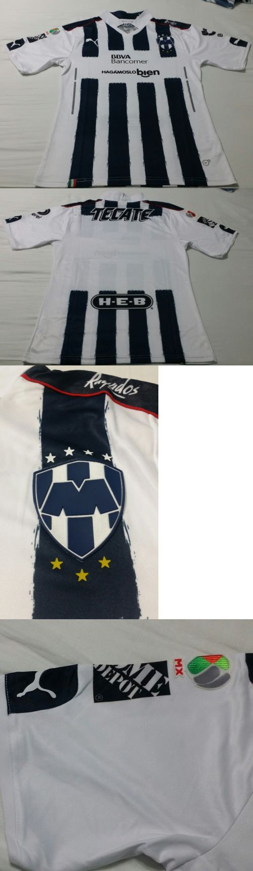 Men 123490: New Club Monterrey Rayados Blue 2017 Soccer Jersey Size L -> BUY IT NOW ONLY: $44.97 on eBay!