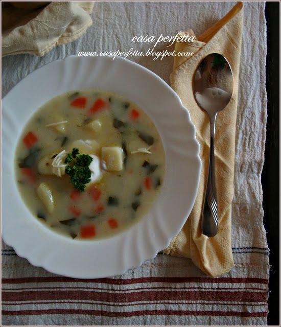 Casa Perfetta: Спаначена супичка!