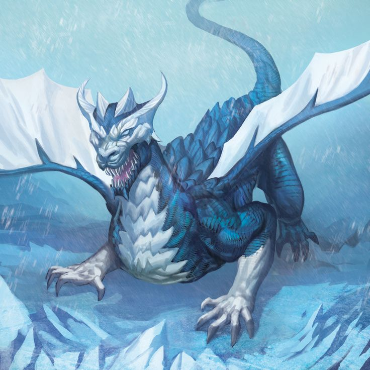 17 beste afbeeldingen over Snow, Ice, & Frost Dragons op ...