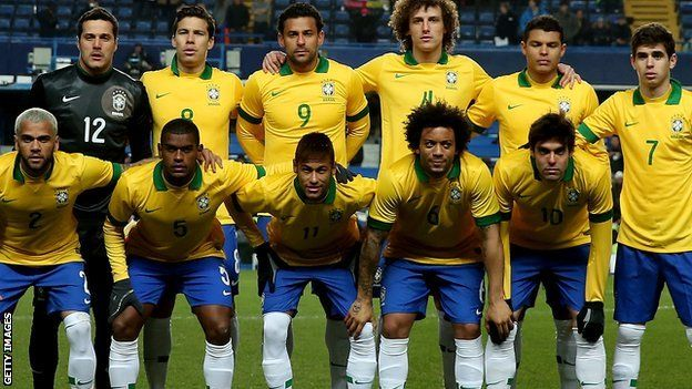 Five-time World Cup winners Brazil have fallen to 19th in the Fifa world rankings, their lowest ever position. Brazil are hosting the 2014 World Cup but a lack of competitive matches has seen them drop to their worst placing since the rankings began in 1993.