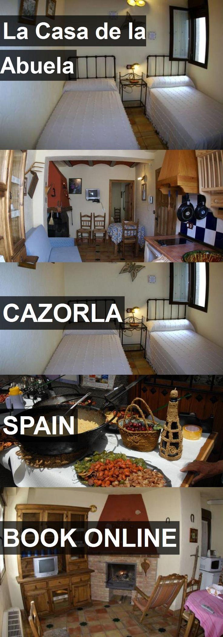 Hotel La Casa de la Abuela in Cazorla, Spain. For more information, photos, reviews and best prices please follow the link. #Spain #Cazorla #travel #vacation #hotel