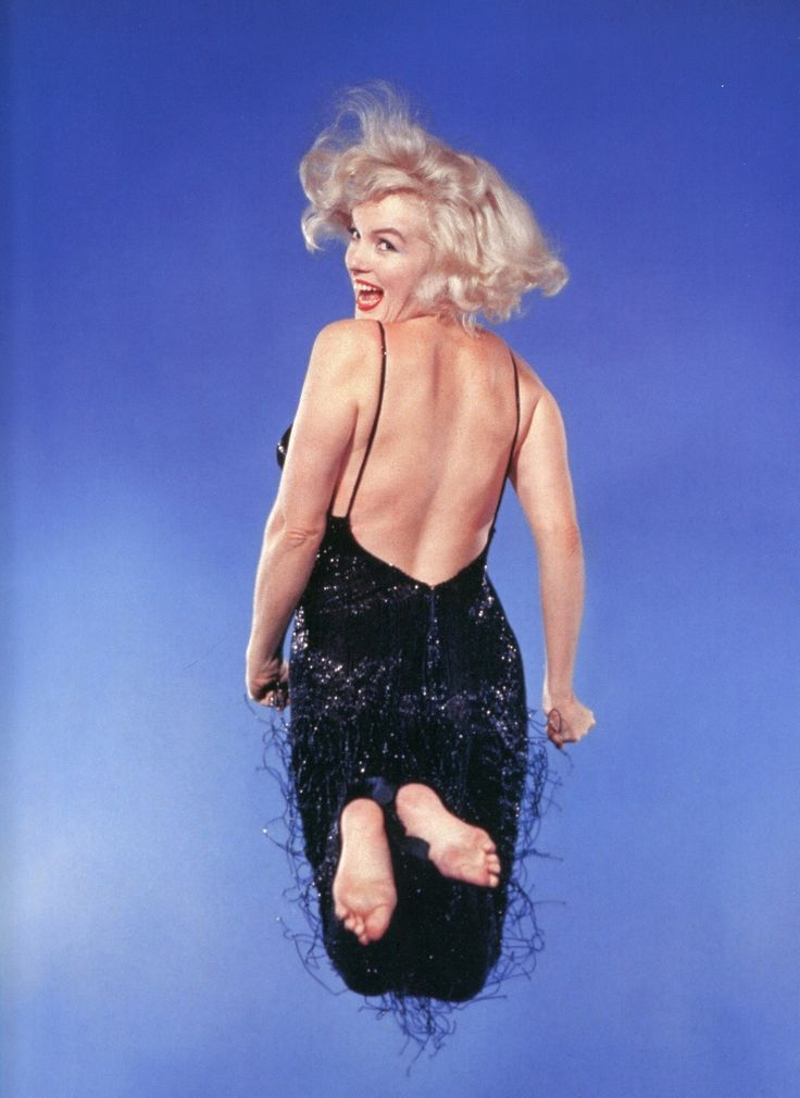 Marilyn Monroe photographed by Philippe Halsman, 1959