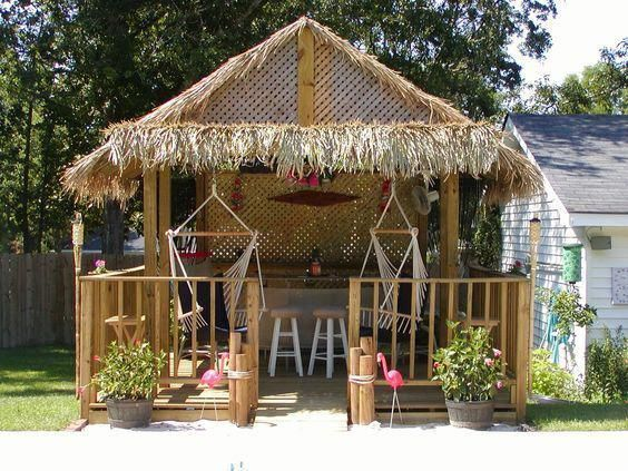 Thatching for DIY build your own Tiki Huts and Tiki Bars  #buildyourownpergola #buildyourowndeck - Thatching For DIY Build Your Own Tiki Huts And Tiki Bars