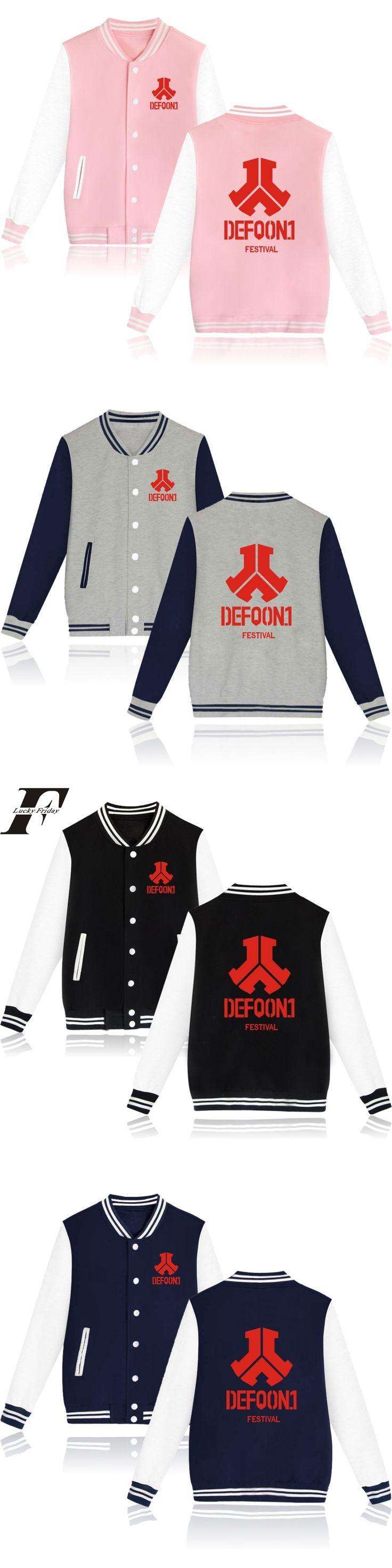 winter jacket men bomber Jacket Defqon 1 Fashion baseball jackets Men Slipknot with button fitness jacket softshell 4XL