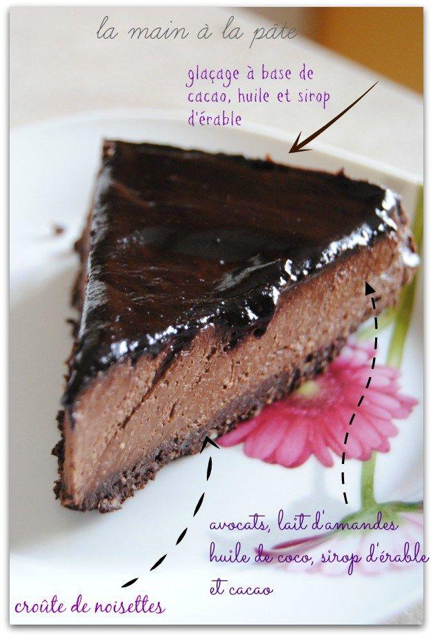 cheesecake au cru au chocolat