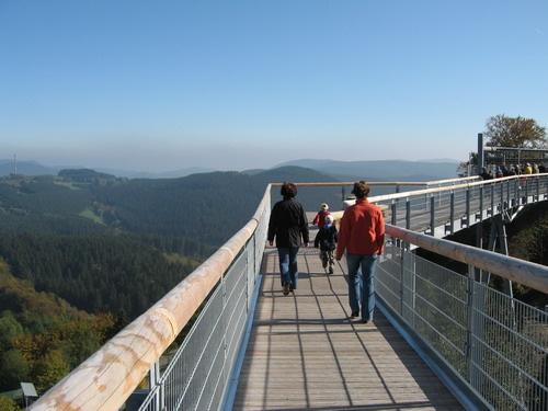 Panorama Erlebnis Brücke Winterberg, Sauerland