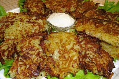 Драники из картошки.