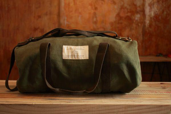#DarkHorse small #duffel in All Green. R490.00 - #Organic Fabric, 100% Cotton straps. Built for #adventure.