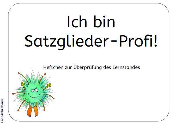 Deutsch: Satzglieder – Heftchen zur Lernstandsüberprüfung – Grundschul-Ide… – Mariola Baust