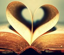 Image result for book heart