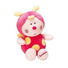 Jemini luminou pantin papillou coccinelle rose jemini for Porte bebe toys r us
