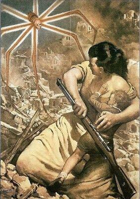 Cartel propaganda de la Italia Fascista -8