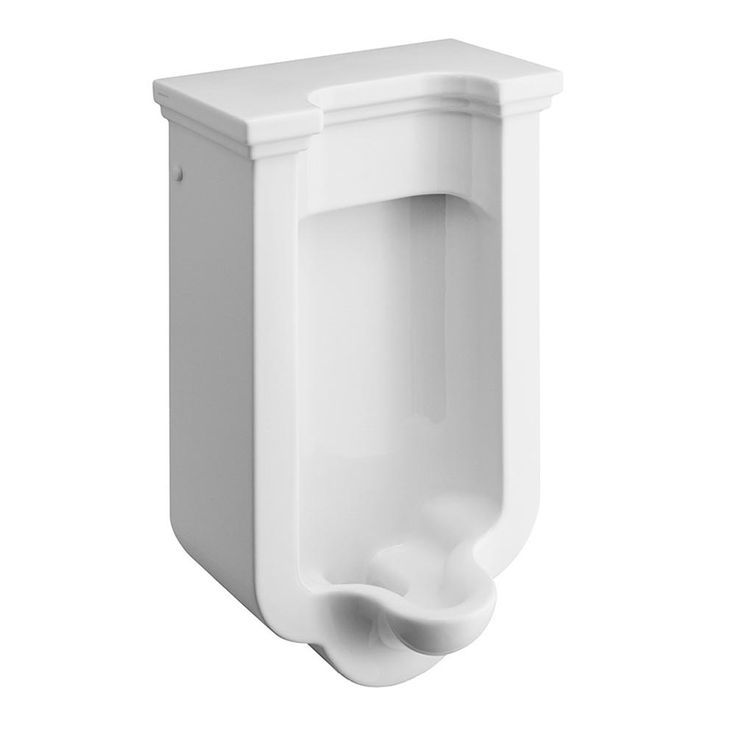 Browse the stylishly designed Bauhaus Waldorf Art Deco Wall Hung Urinal online. Features traditional lines. Now at Victorian Plumbing.co.uk....IN BLACK