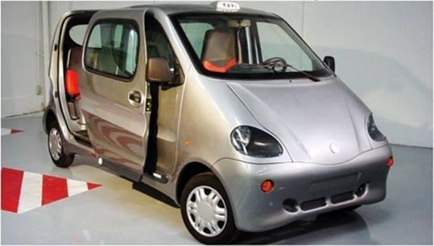Un automóvil que utiliza aire comprimido en lugar de gasolina