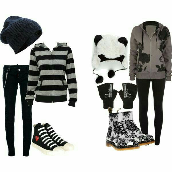 25+ Best Ideas about Cute Emo Clothes on Pinterest | Suspenders fashion Rock clothing and Cute ...