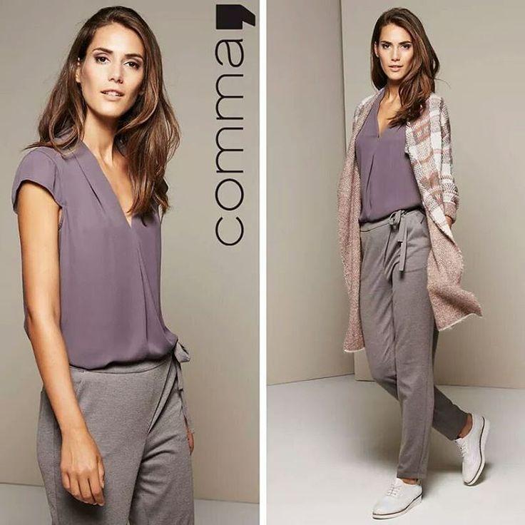 В комплекте с этой блузой графитового цвета идёт украшение: тонкая серебристая двойная цепь с небольшими подвесками.💎 И это то, за что мы ❤ Comma.  #commafashion #taifunodessa #graphit #accessories #casualidentity #details #favourite #brand #trendy #blouse #womensclothing #fashionable #fashionista #fadhionblog #мода #шоппинг #зима2017 #любимыйбренд #аксессуары #стиль #женственно #детали #изюминки #индивидуальность #новаяколлекция #тцафина #женскаяодежда #одесса