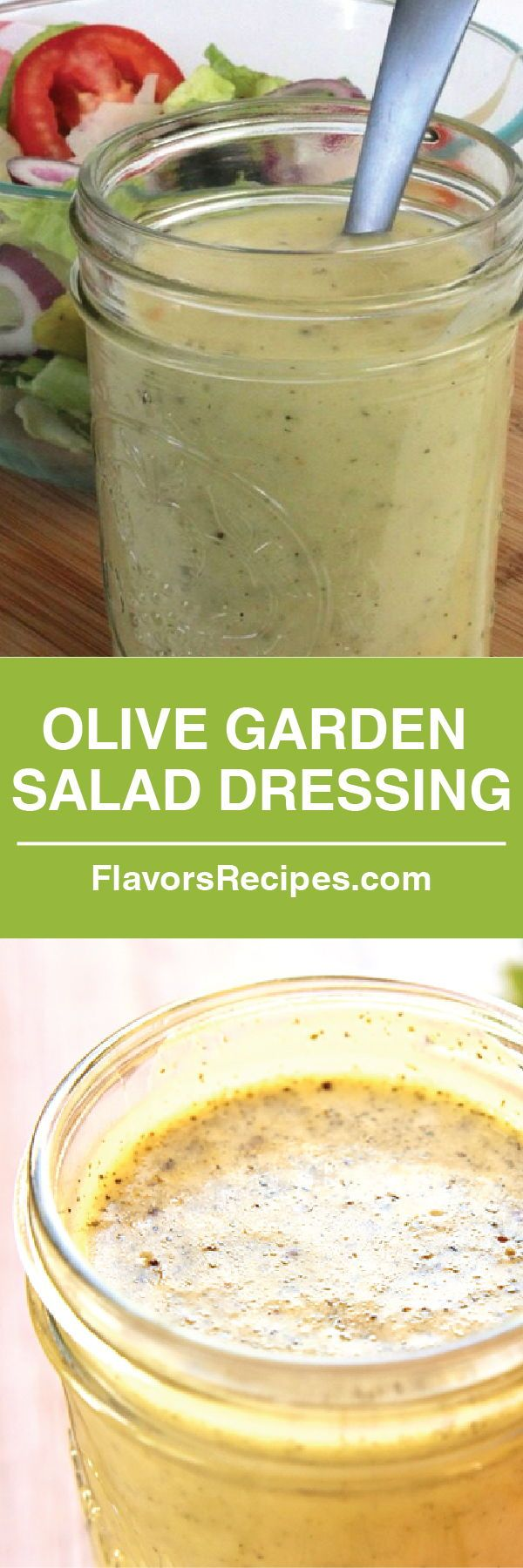 Easy & Delicious Olive Garden Salad Dressing (With images