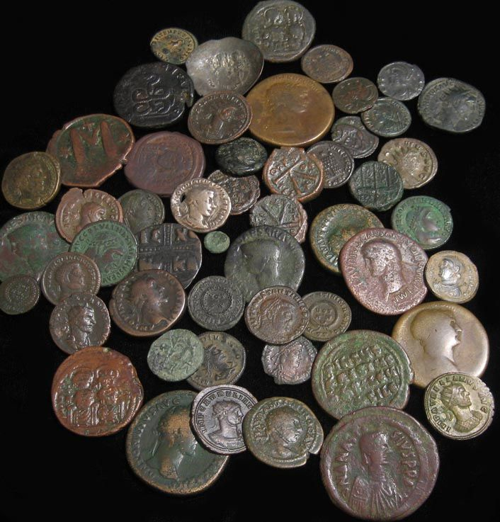 How to Clean Ancient Coins #stepbystep