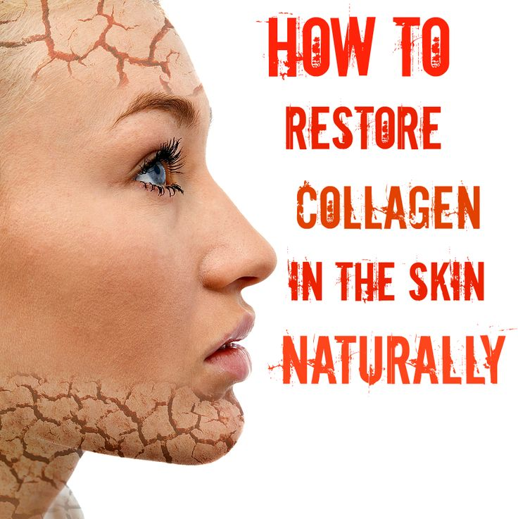 How To Restore Collagen In The Skin Naturally #Beauty #SkinCare #wrinkles