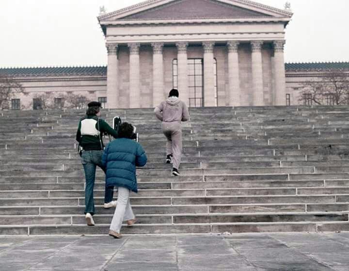 Rocky (1976). John G. Avildsen  Cinematography: James Crabe  Special Camera Effects: Garrett Brown  Photo by: Elliott Marks #Oscars #Platinum #SableFilms