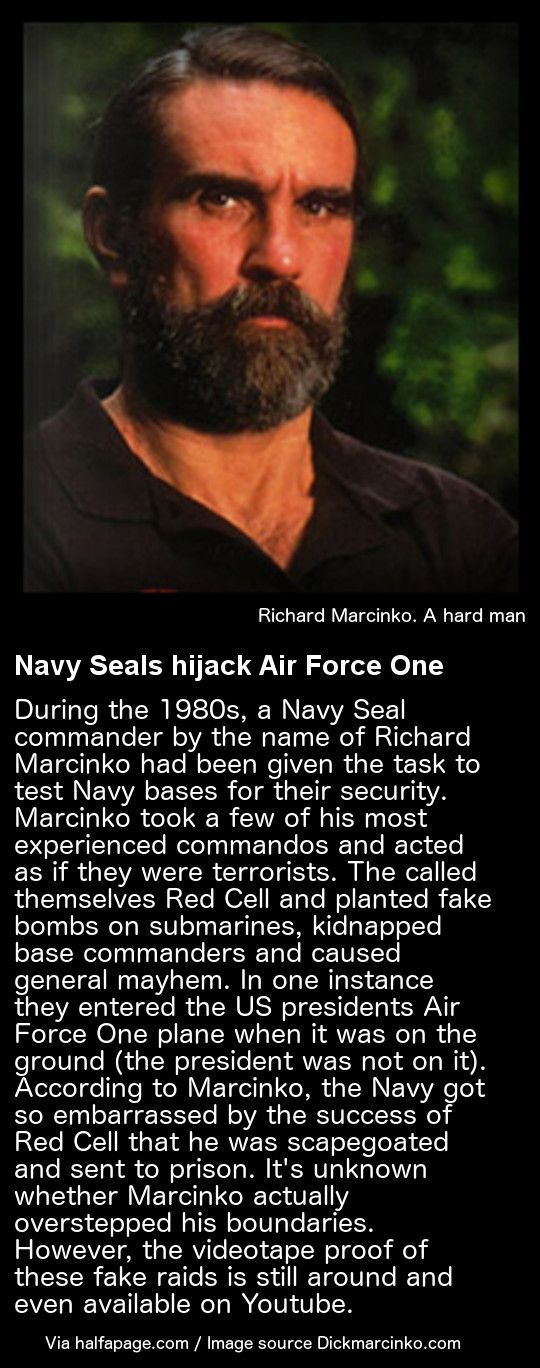 Richard Marcinko Red Cell