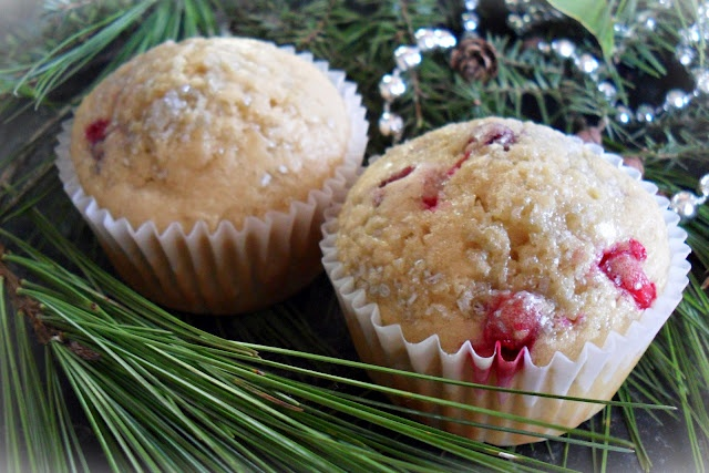 Cranberry White Chocolate Muffins | Candid Cooking {www.srshowalter.b ...