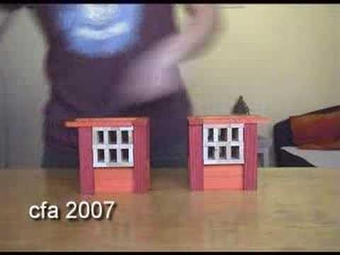 Chinees huis bouwen met kapla