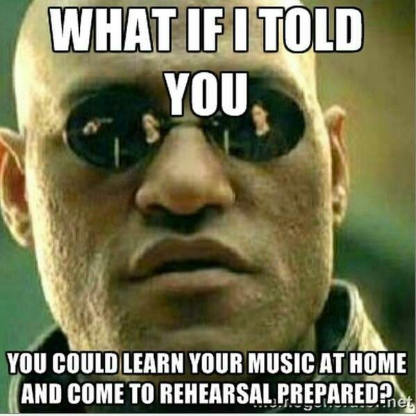 Matrix Music Rehearsal