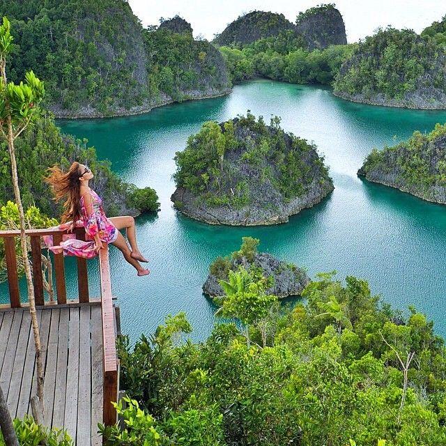Pianemo, Raja Ampat - Indonesia ✨✨ Picture by ✨✨@EllChintya✨✨