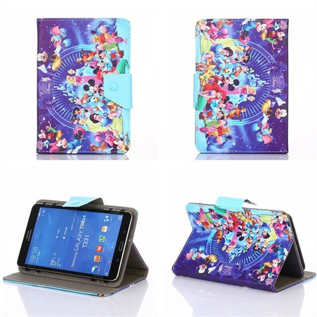 3 Camera Holes for Google Nexus 7 1st (2012) 7 Inch Tablet Universal PU Leather Cover Case 360 Degree Rotating Free Shipping