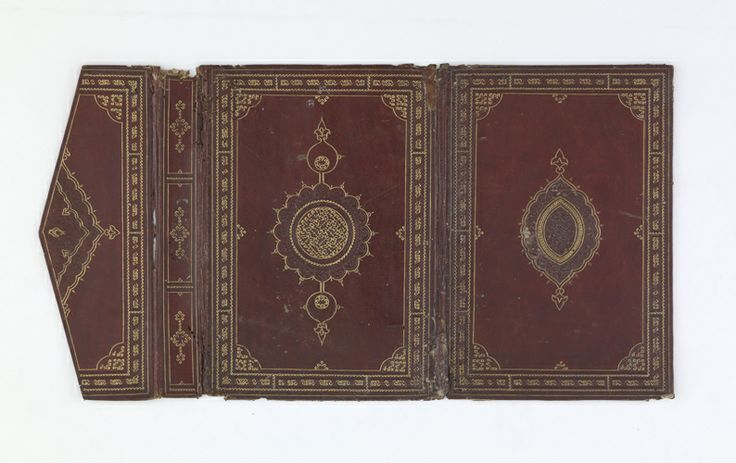 Bookbinding | 15th century, Ottoman period | Red leather on pasteboard; H: 23.7 W: 16.5 cm; Turkey